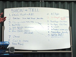 2  Show &amp; Tell List